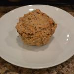 Mufin de cenoura e farinha de amêndoa