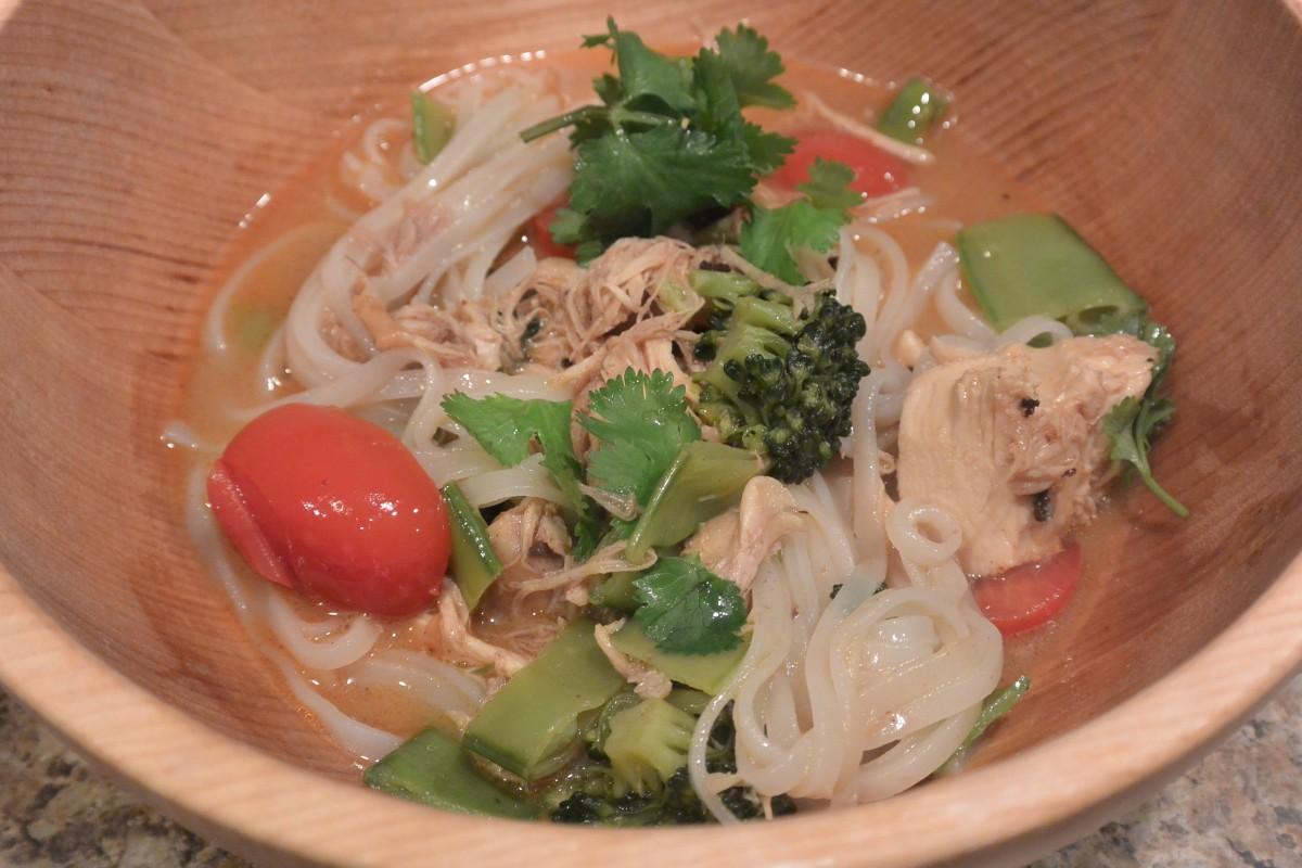Chicken Laksa Noodles (3)