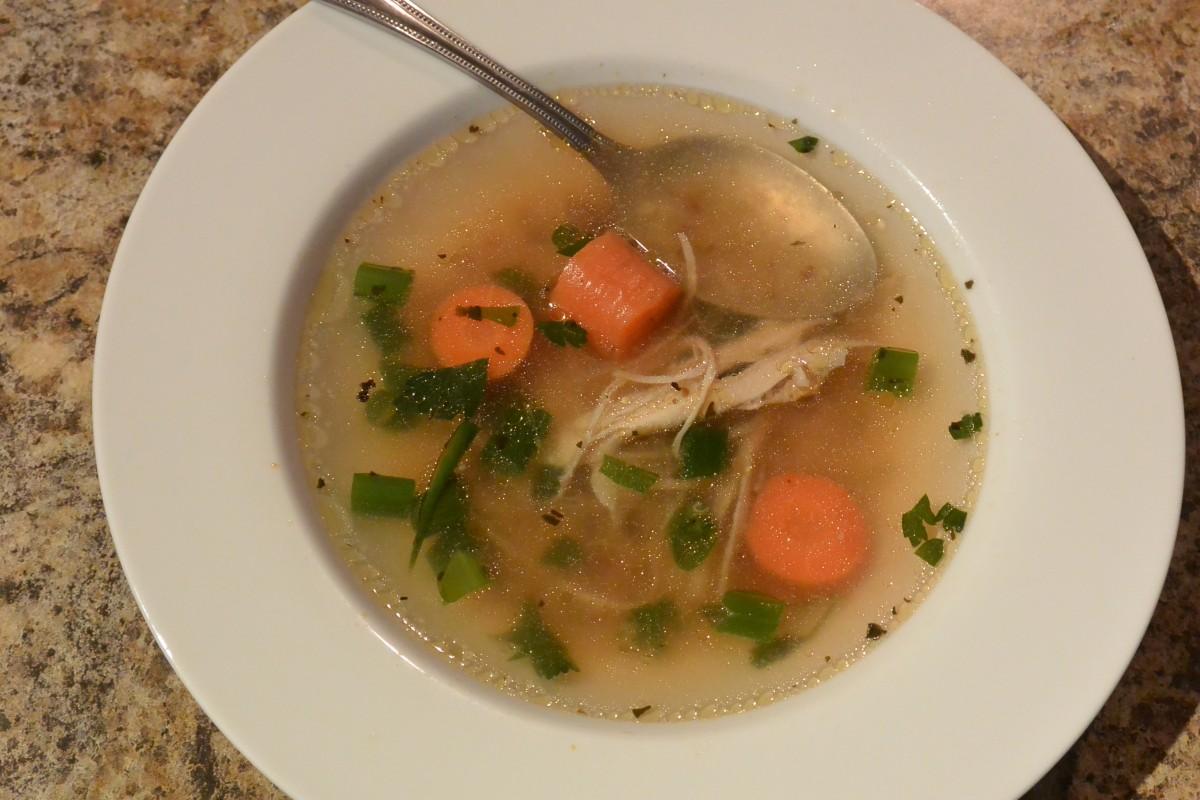 Chicken soup July 2014