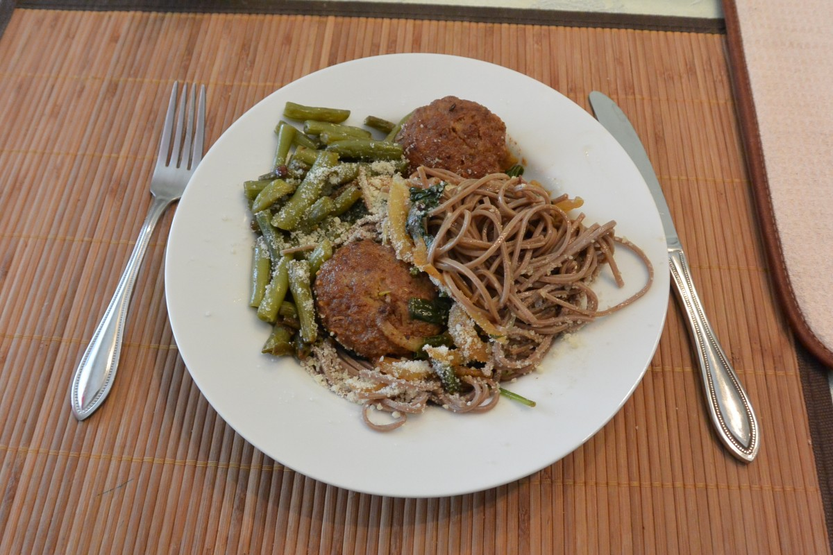 Fennel Meatball Spaghetti