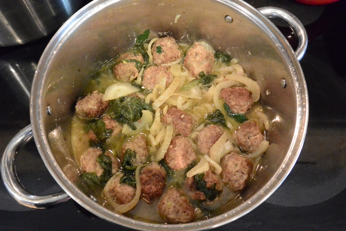 W 2 Tue Diner Pork and Fennel Meatballs (1)
