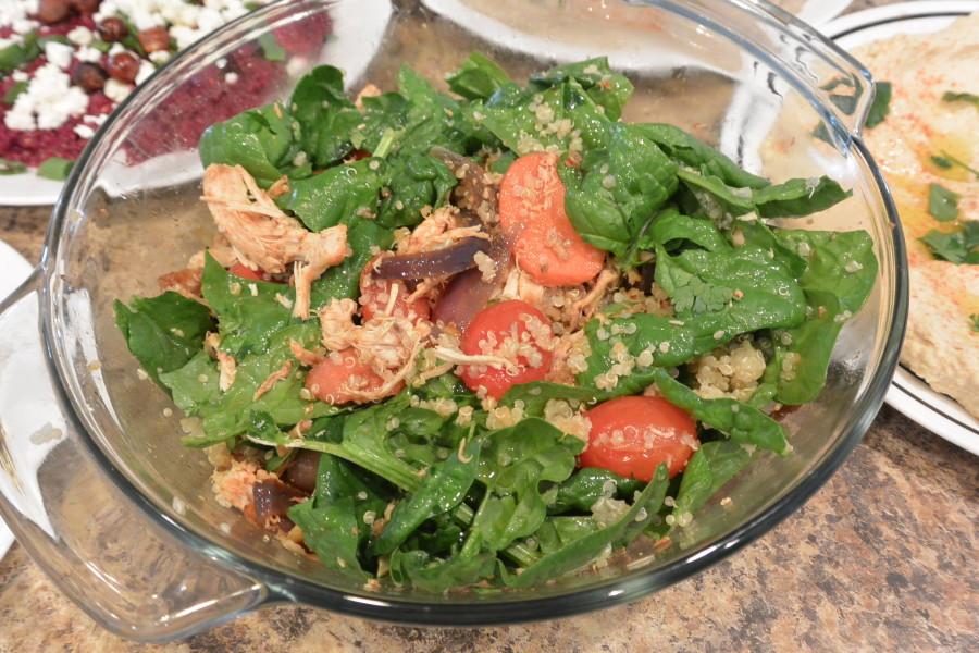 Roast Chicken & Quinoa salad (2)