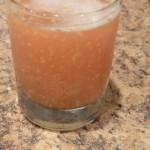 Gengi-birra, ou Ginger-Ale, ou refrigerante de gengibre caseiro, adoçado com rapadura.