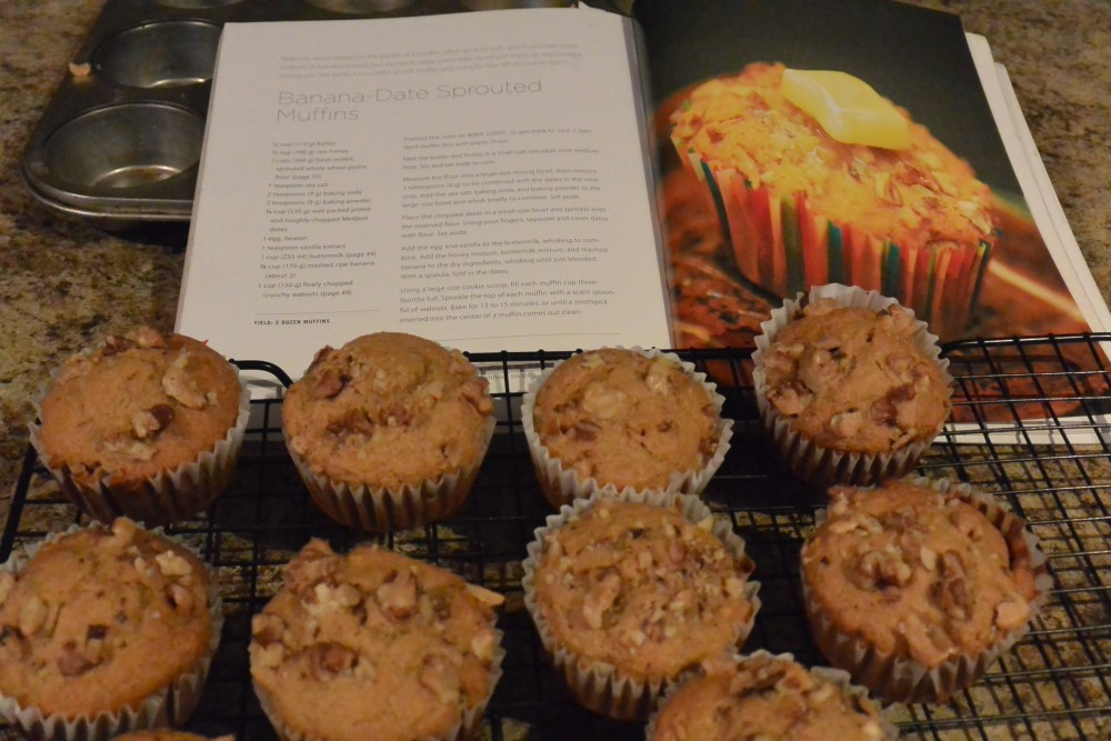 Banana Date Sprouted Muffin (1)