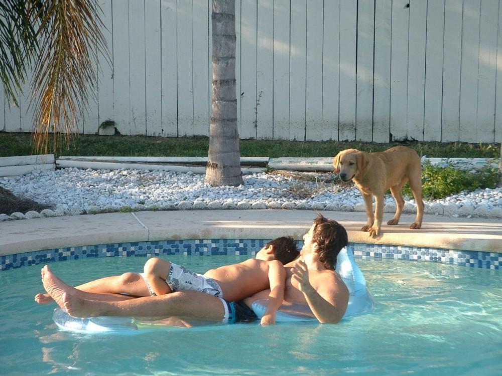 Paul, Gab, Mopar pool Oct 06