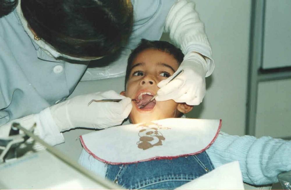 Gabriel na dentista